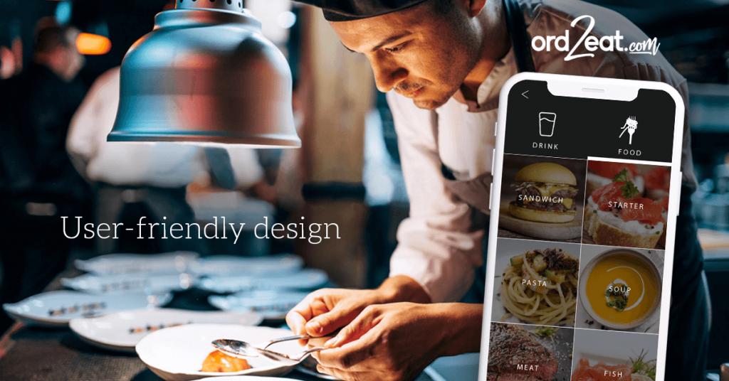 User Friendly Design elegant ord2eat